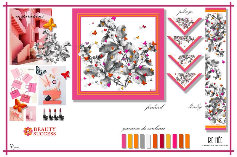 beau lustre style classique de 2019 doux et léger Boutique Beauty Success : création d'un foulard personnalisé ...